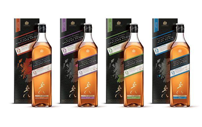 Johnnie Walker range explores Scotch regions
