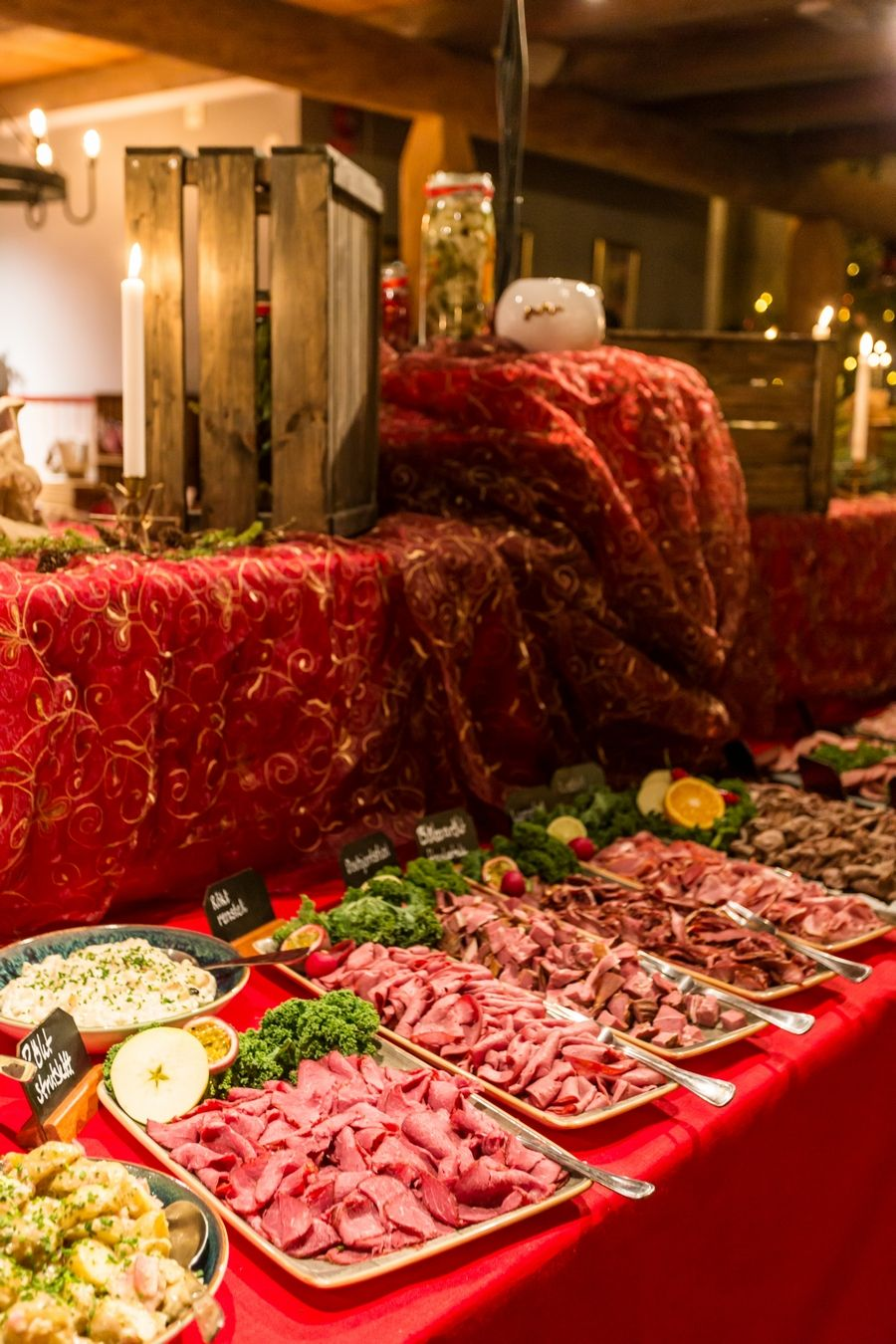 Julbord at Romme Alpin - Swedish Christmas food at a ski resort - Electric Blue Food - Kitchen stories from abroad