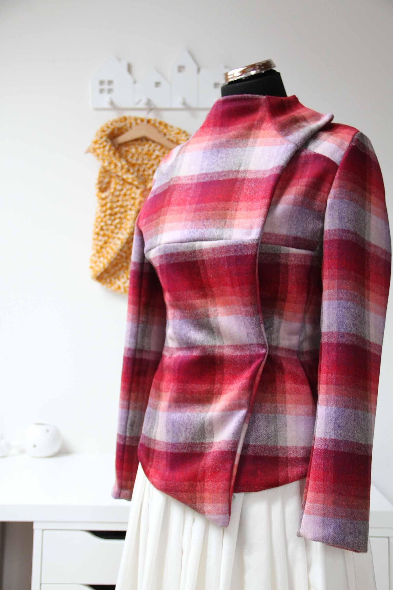 Vlastnoručně šitý jarní kabátek, Burda Style