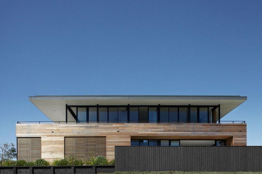Magnifique maison bois contemporaine et son panorama sur lu0027océan