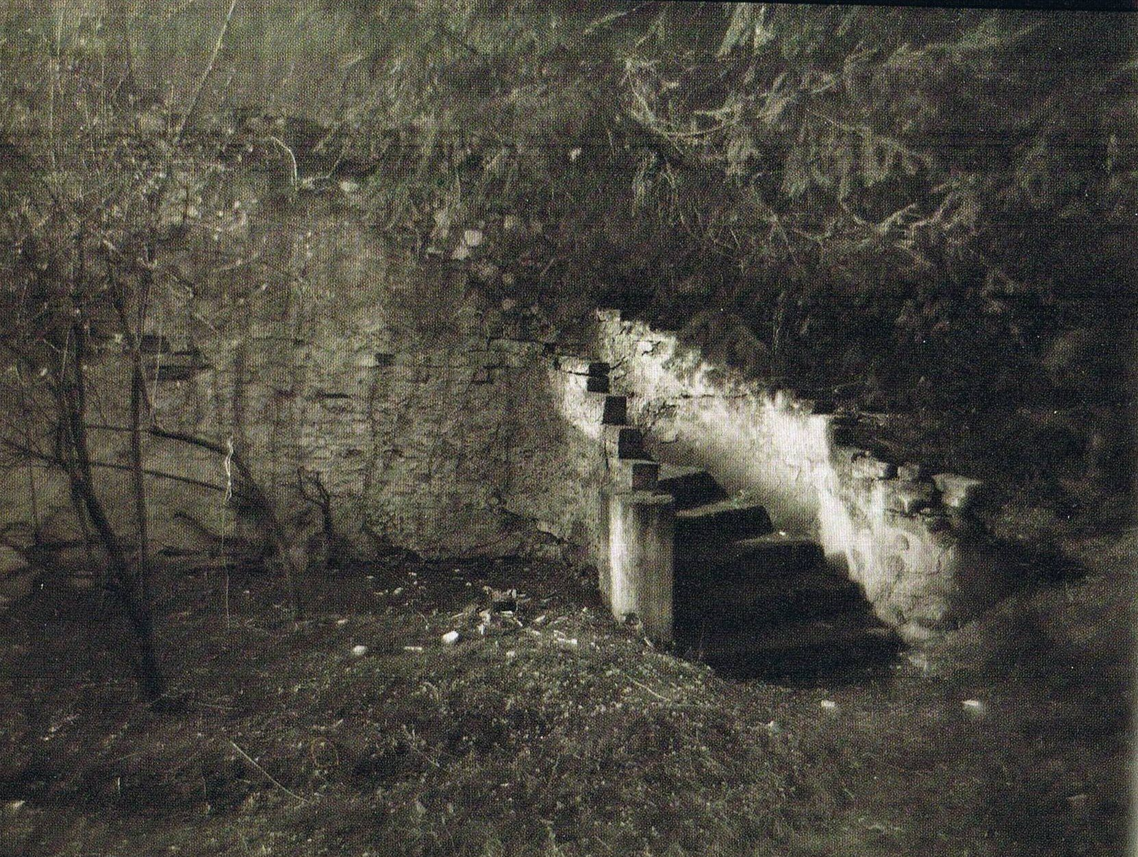 There was, even in Summertime, an unexplainable coldness near these steps. Since my childhood, I always avoided them.
