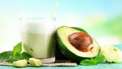 طريقة عمل عصير الافوكادو بالايسكريم Recipe Healthy Drinks Fruit Avocado