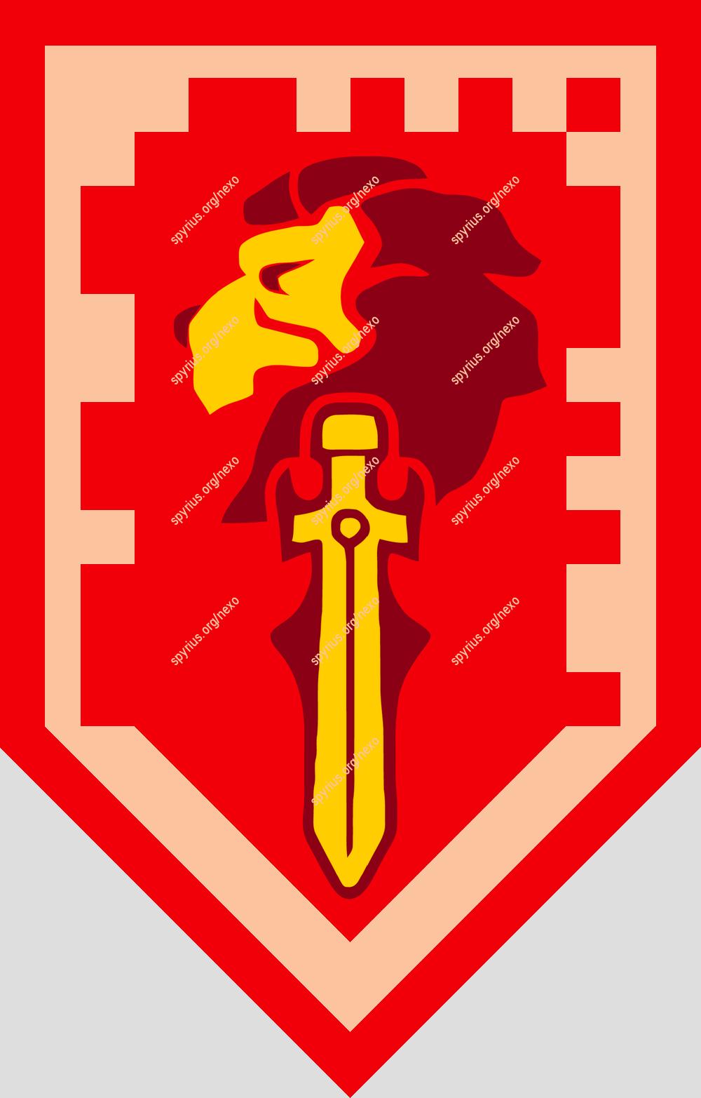 Lego Nexo Knights Power Macy Blade Of Bravery Knight Shield Knight Nexo Knights Shields