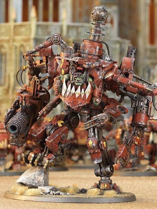 Ork Mega Dread - Looted Dreadknight | Da Orks | Orks 40k, Warhammer