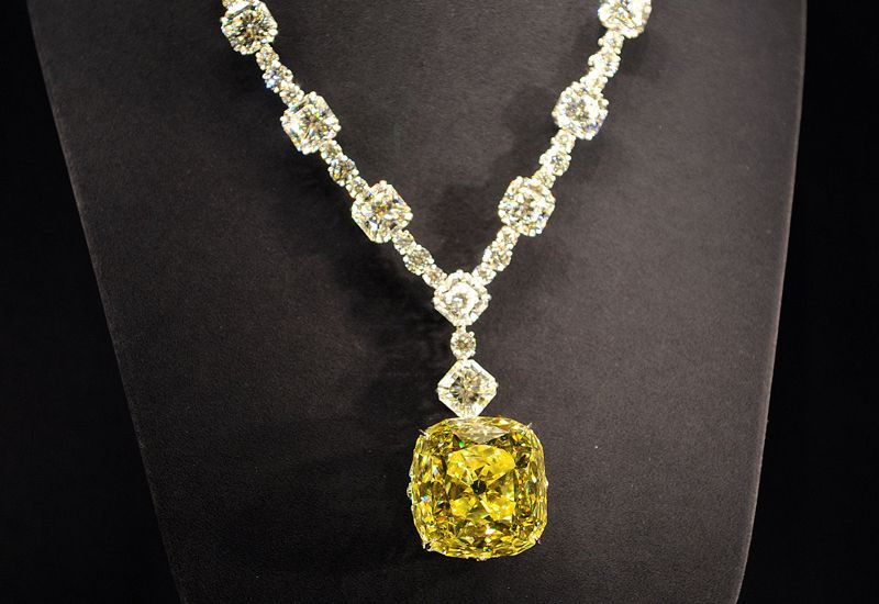 Tiffany co yellow diamond necklace jewelery pinterest tiffany co yellow diamond necklace mozeypictures Image collections
