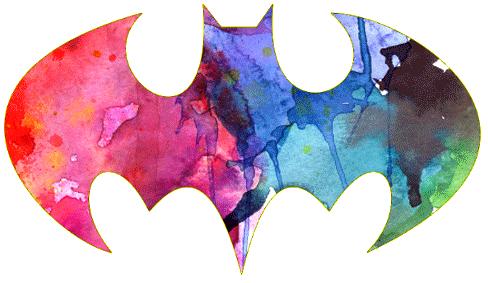 Paint Splatter Batman Symbol Tattoo Idea Ink Pinterest Batman