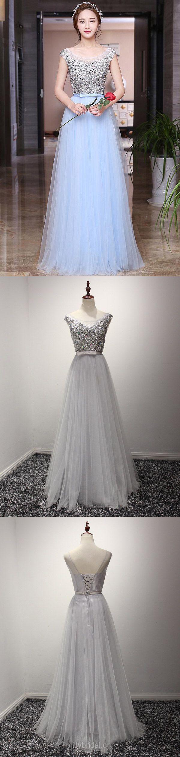 Long prom dresses blue prom dresses for teens cheap aline