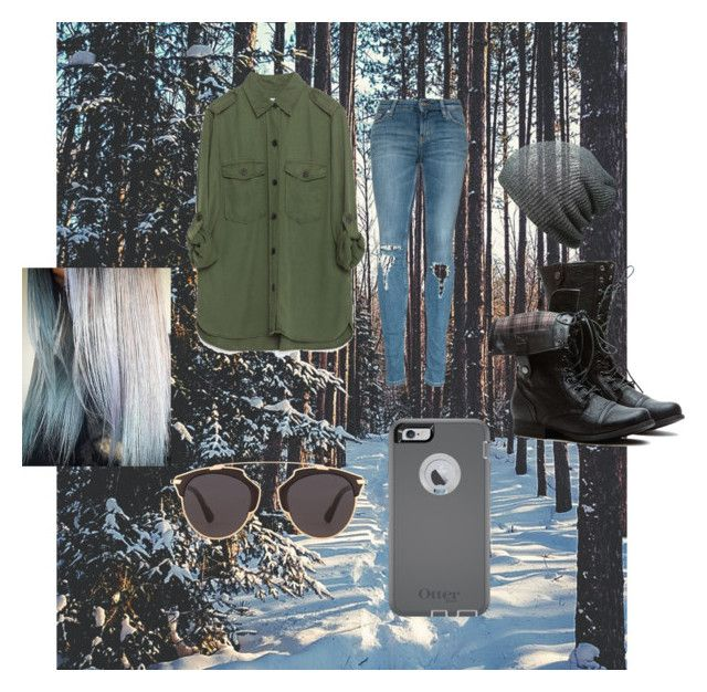 """""""Ladylike Is Not My Forte"""" by harmony145 ❤ liked on Polyvore featuring Zara, OtterBox and Christian Dior"""