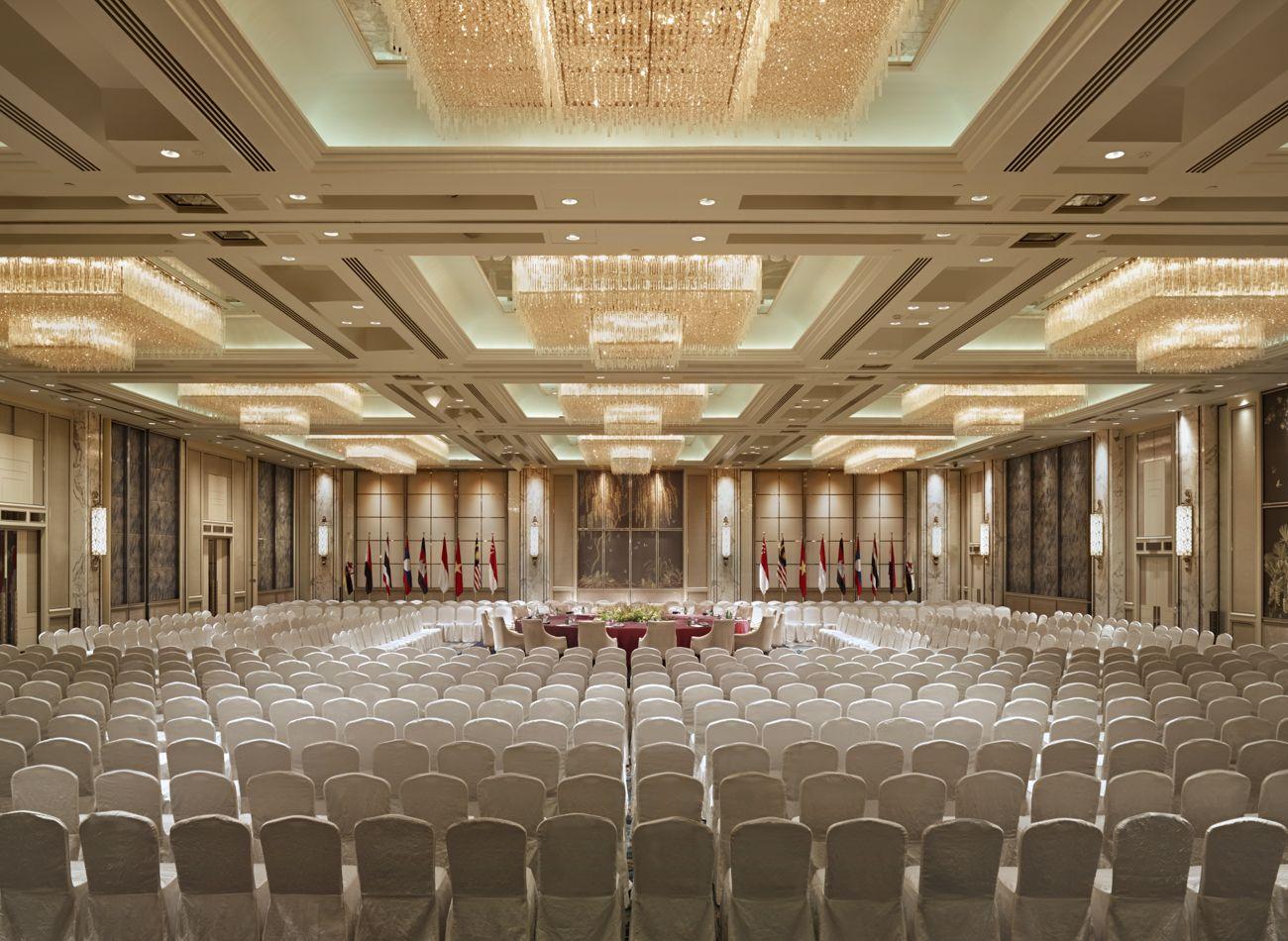 Luxury Hotel In Singapore Shangri La Hotel Singapore Main Door Design Ballroom Design Hall Decor
