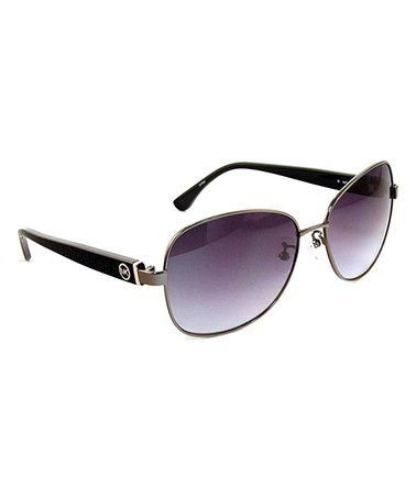 4712bfda79b5 Take a look at this Gumetal Tunisia Sunglasses - Women by Michael Kors on   zulily