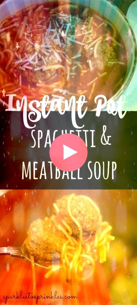Spaghetti and meatball soup is a recipe to make on those nights where you want minimal effort on preparing supper This soup practically cooks itself It is such a hearty d...