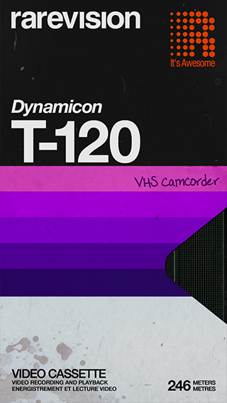 Vhs Camcorder Records Videos On Your Ios Device And Runs Them Through A Set Of Filters So They Lo Graphic Design Posters Graphic Design Typography Retro Design