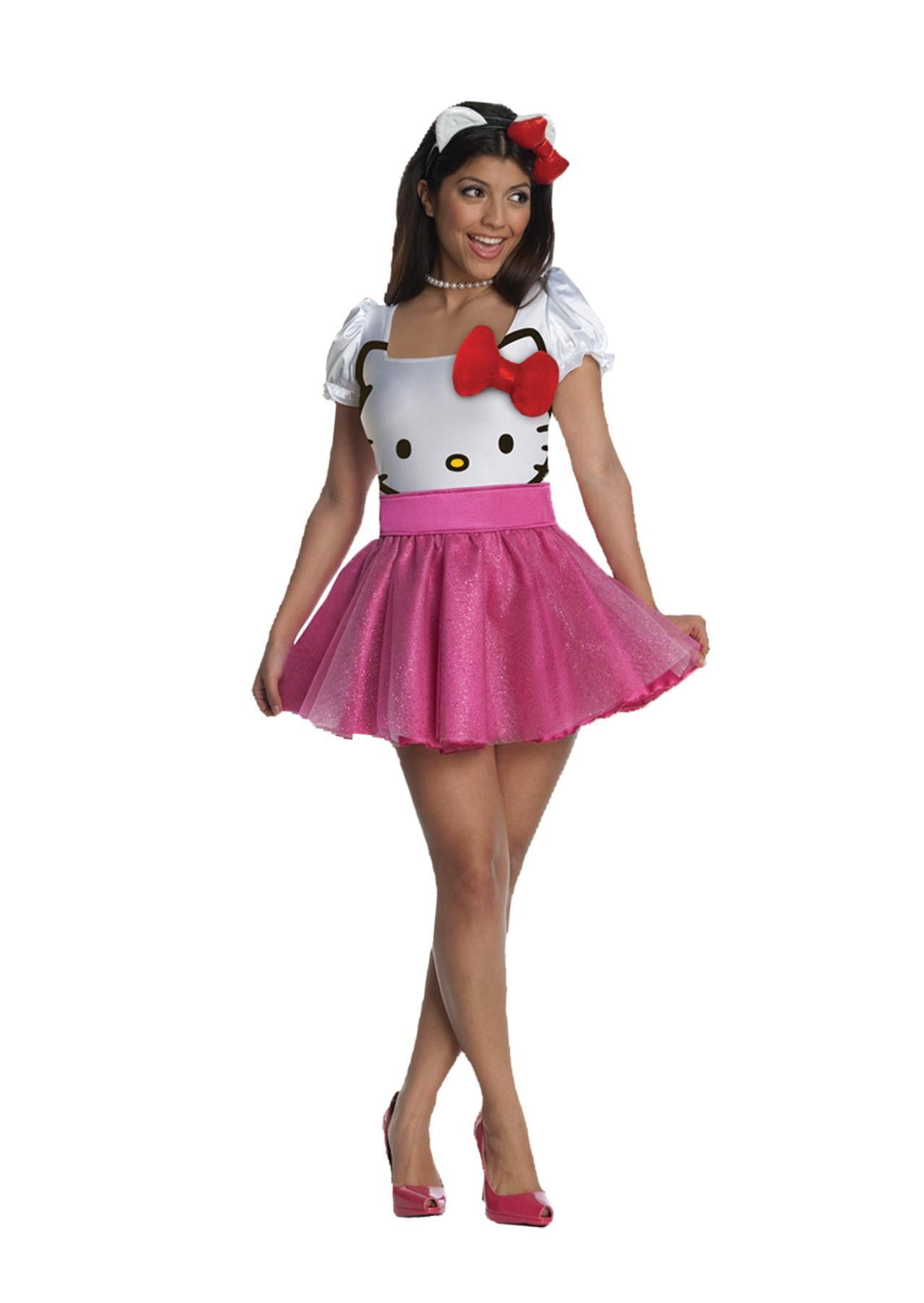 Hello Kitty Pink Xs Adult