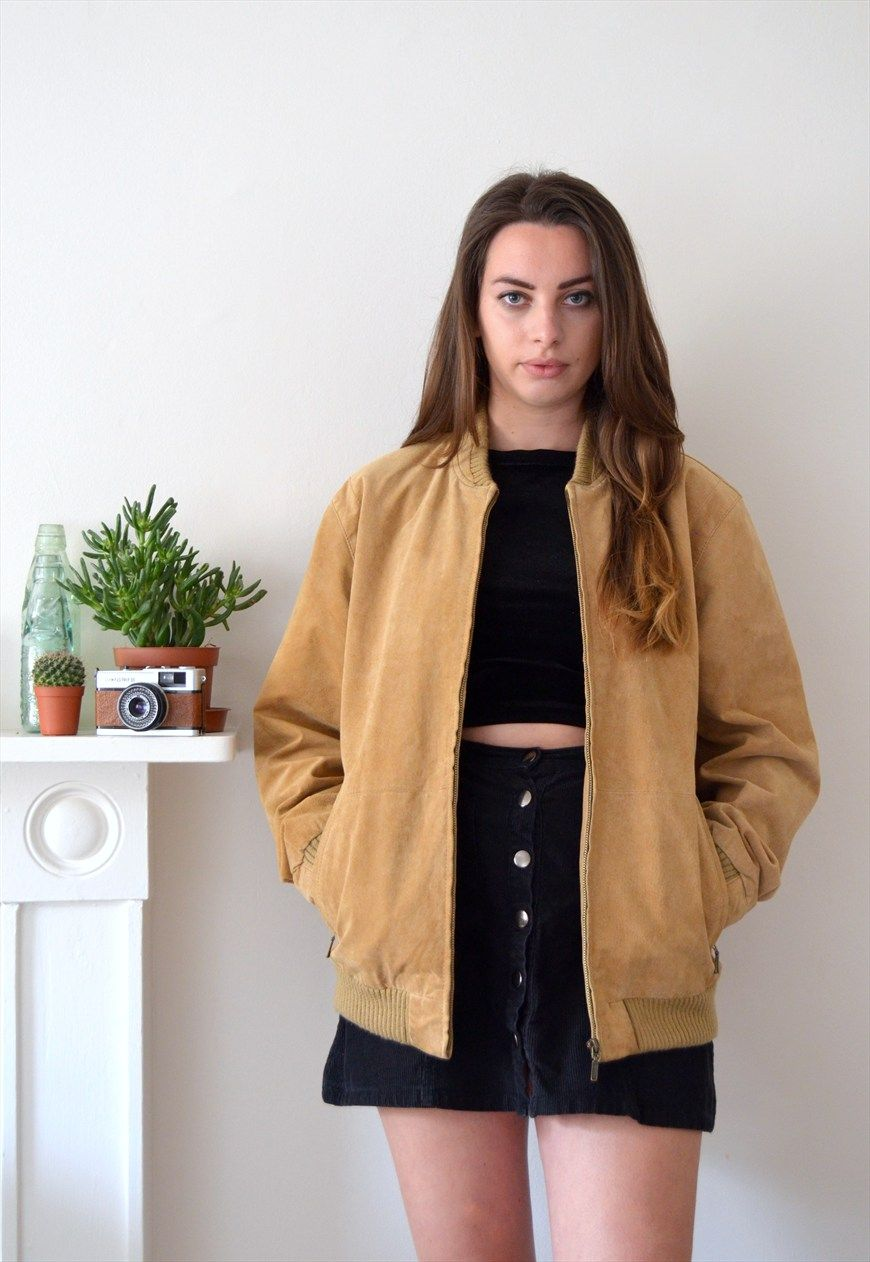 Vintage Burberry Mac | Brown suede, Light browns and Brown
