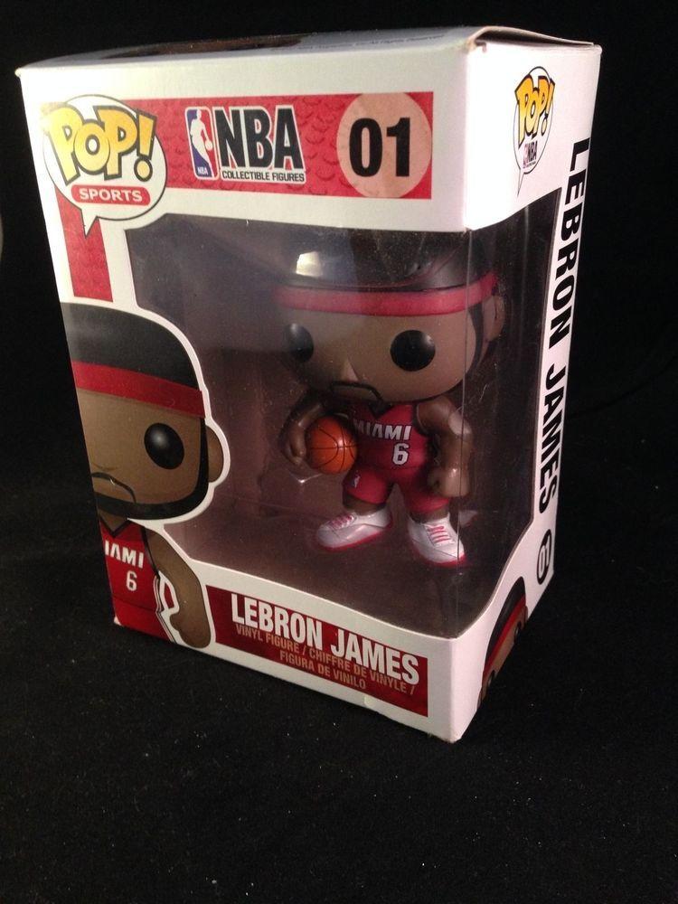 Funko POP NBA LebronJames Vinyl MiamiHeat Basketball