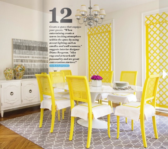 yellow and gray    From Adore magazine