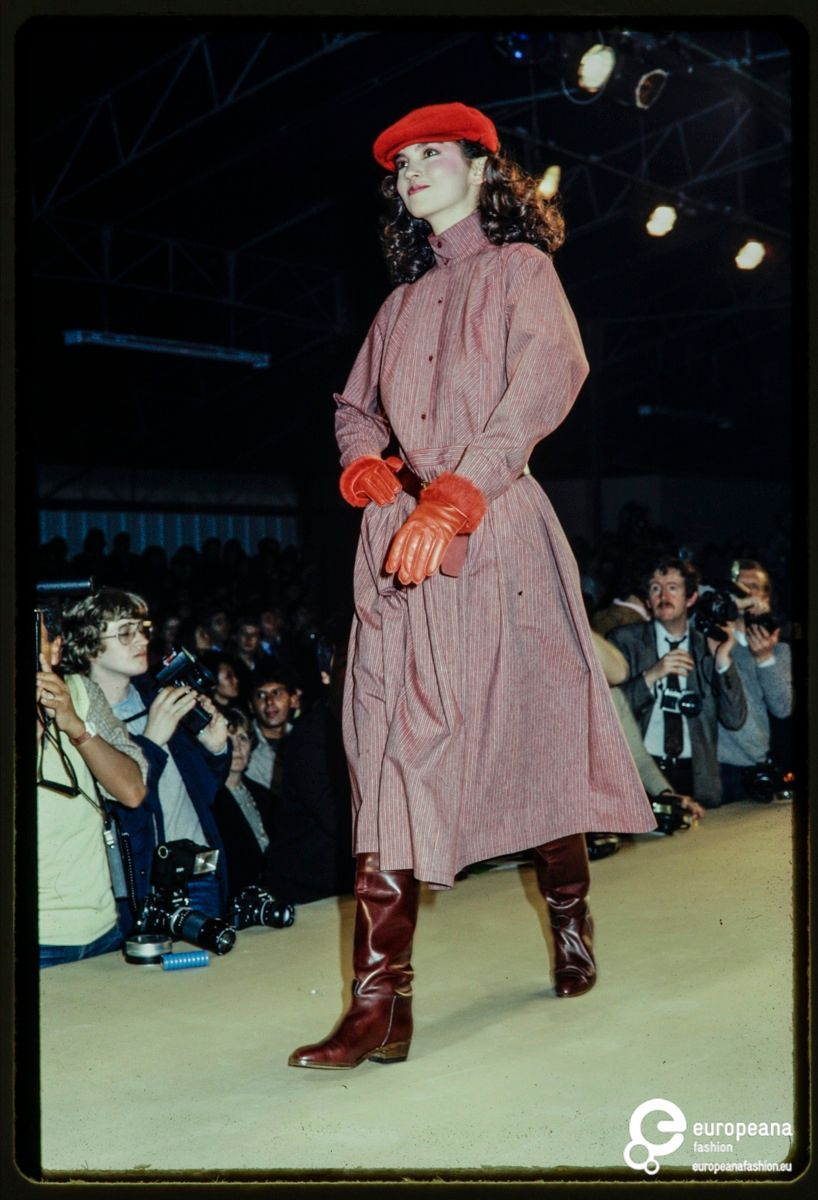 4b1ccd52 Fashion show of Kenzo autumn-winter 1982-1983 women's ready-to-wear  collection.