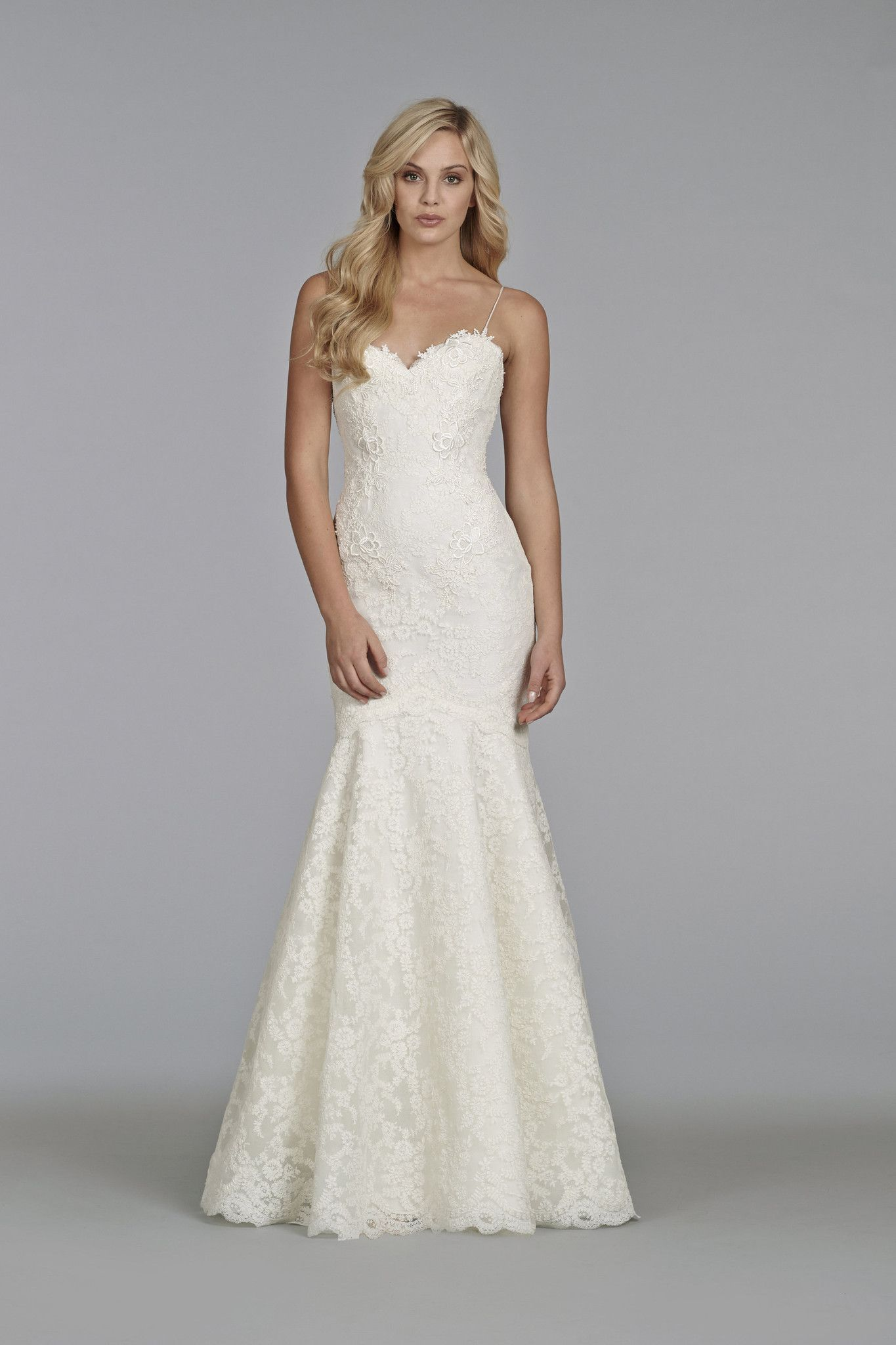 Tara Keely 2411 Is A Stunning Fit And Flare Gown The Sweetheart Bodice Is Framed By Delicate Straps Short Wedding Dress Wedding Dresses Designer Bridal Gowns