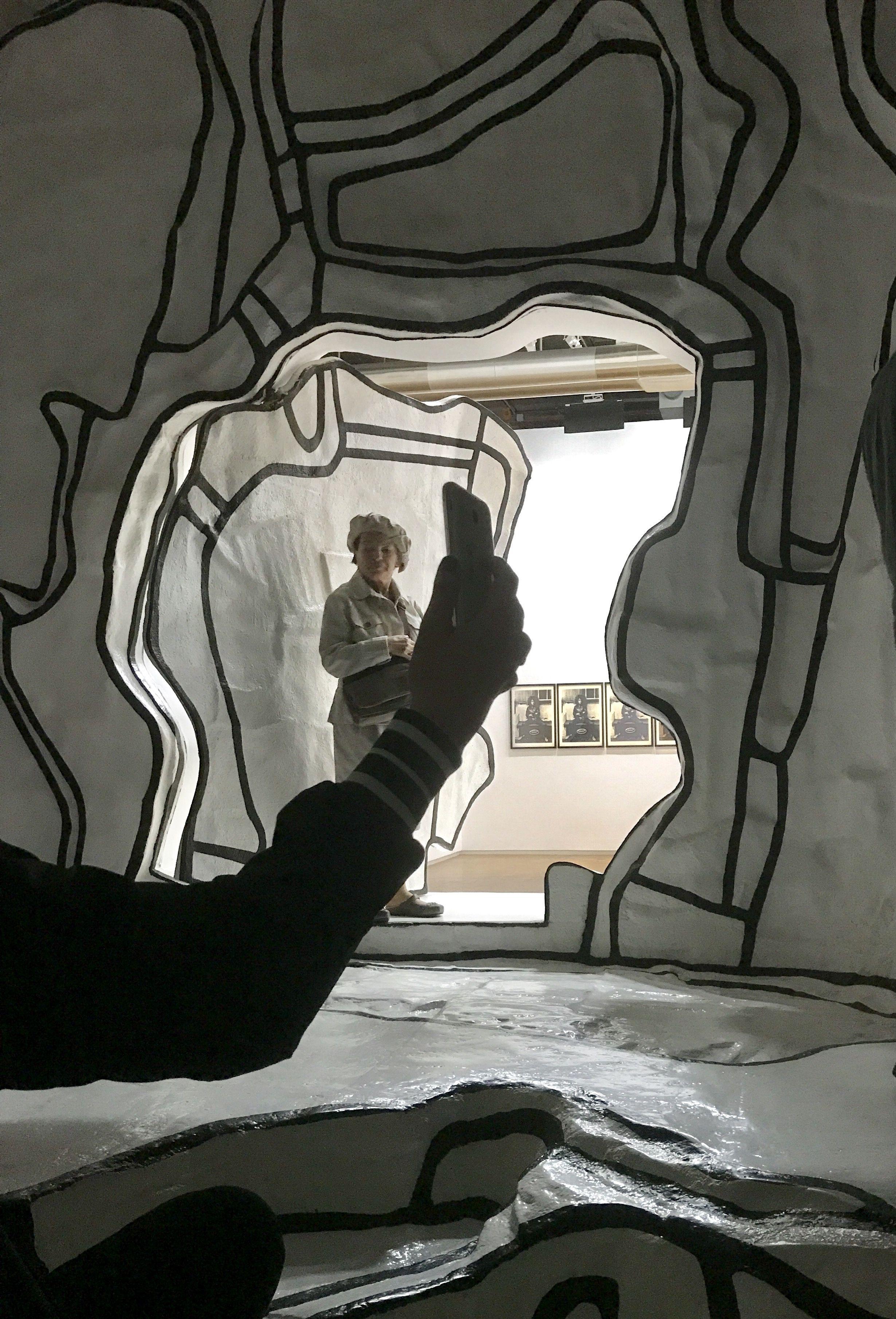 Jardin D Hiver De Dubuffet Centre Pompidou Paris Art Art