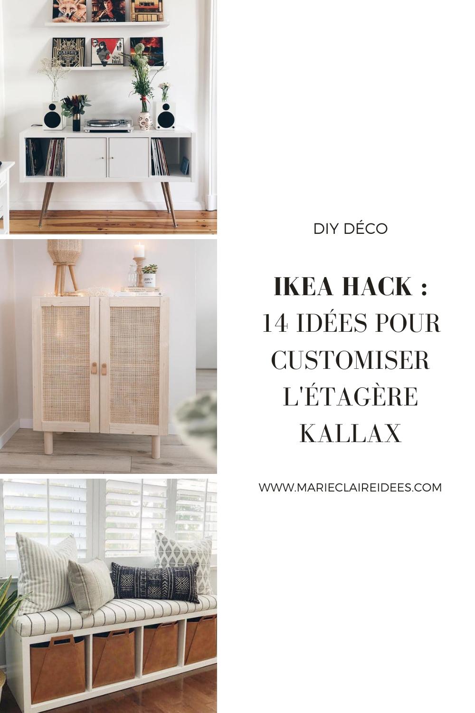 Ikea Hack 14 Idees Pour Customiser L Etagere Kallax En 2020 Ikea Meuble Kallax Decoration Maison