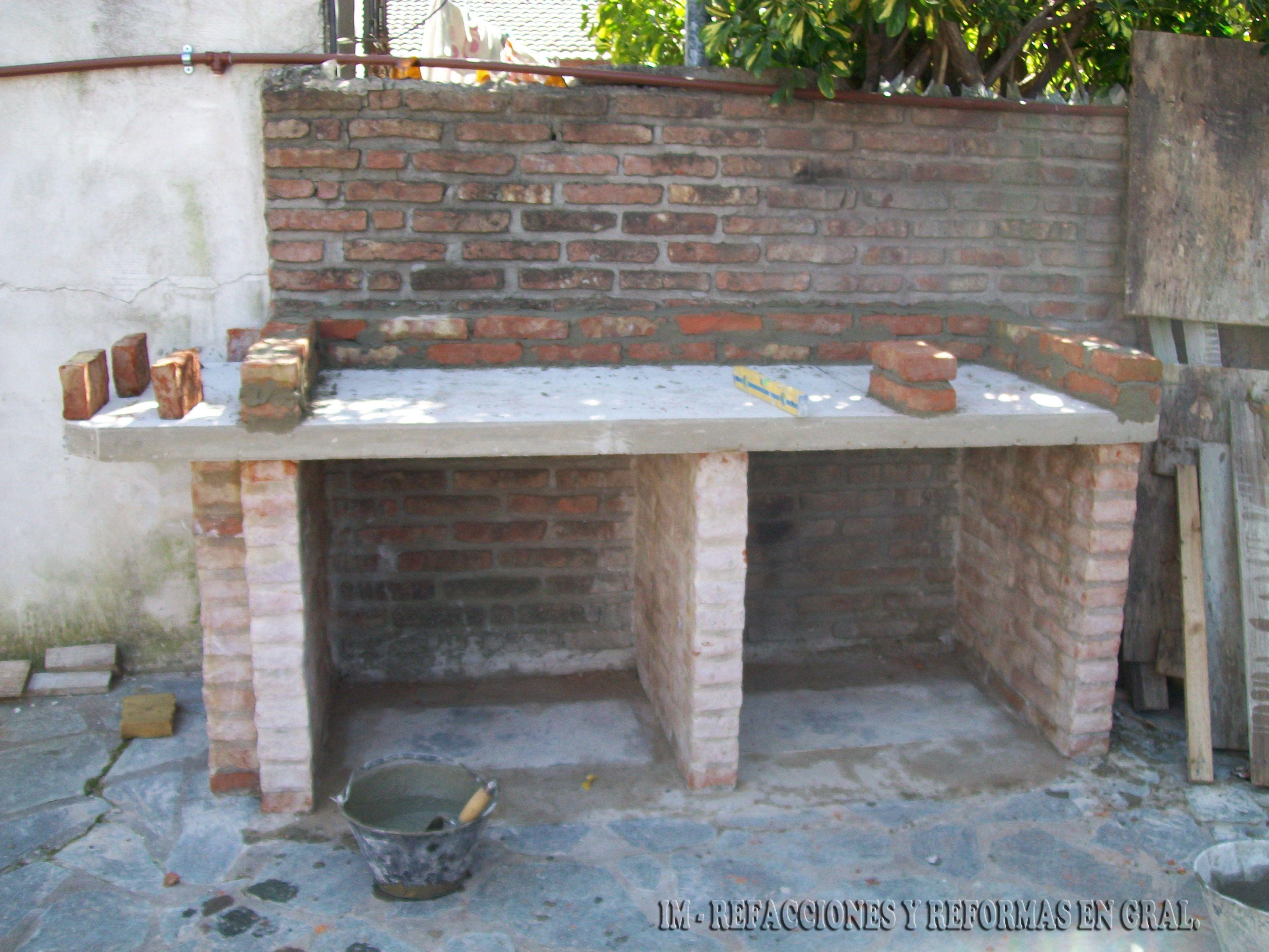 Tavolo Da Giardino Con Barbecue.Parrilla Con Mesada Bs As Argentina 1 9 Outdoor Barbeque