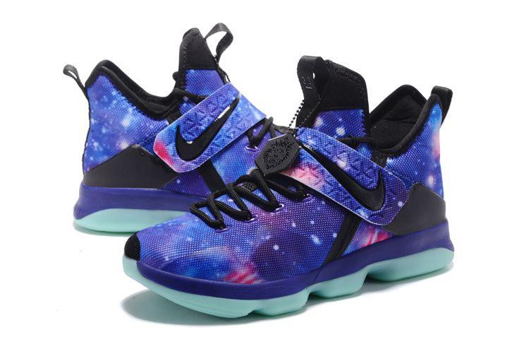new concept 98edb 8c29a Nike LeBron 14 Galaxy Basketball Shoes on www.lebronjames16.com