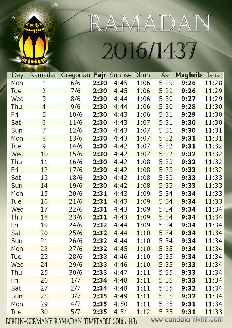 كن داعيا للخير امساكية رمضان 2016 1437 فى العواصم العالمية Ramadan Calendar Ramadan Ramadan Dates Ramadan Time Table