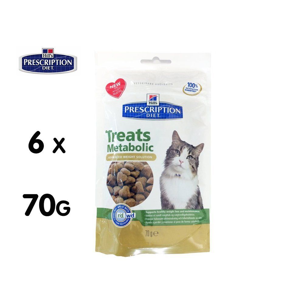 Hills Prescription Diet Metabolic Feline Treats 6x70g Click Image For More Details This Is An Affiliate Link Cattreats Prescription Diet Food Animals
