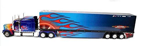 Amazon.com: 85cm 6wd Radio Control Remote Control / Rc Us Trailer Container  Truck