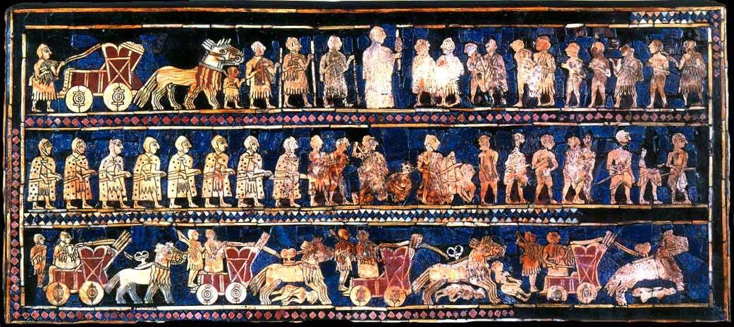 Who were the ancient Sumerians and which are their descendants today?