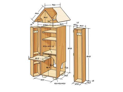 pin von heike bunn auf ger teschrank pinterest gartenh user selbermachen und g rten. Black Bedroom Furniture Sets. Home Design Ideas