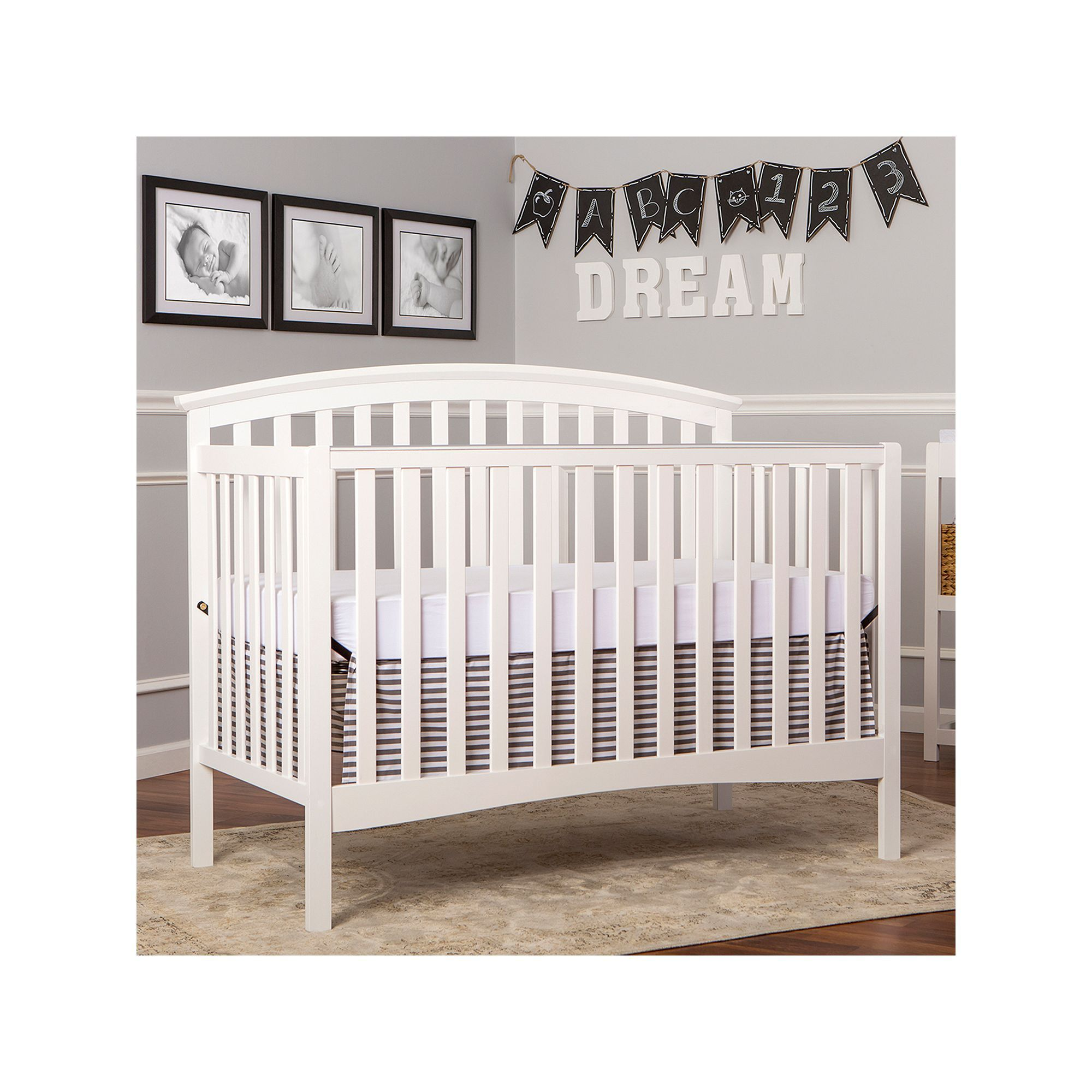 Dream On Me Eden 5 In 1 Convertible Products Convertible Crib