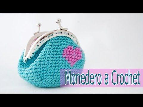 MONEDERO CROCHET |COMO HACER UN MONEDERO GANCHILLO| CHIC DIY ...