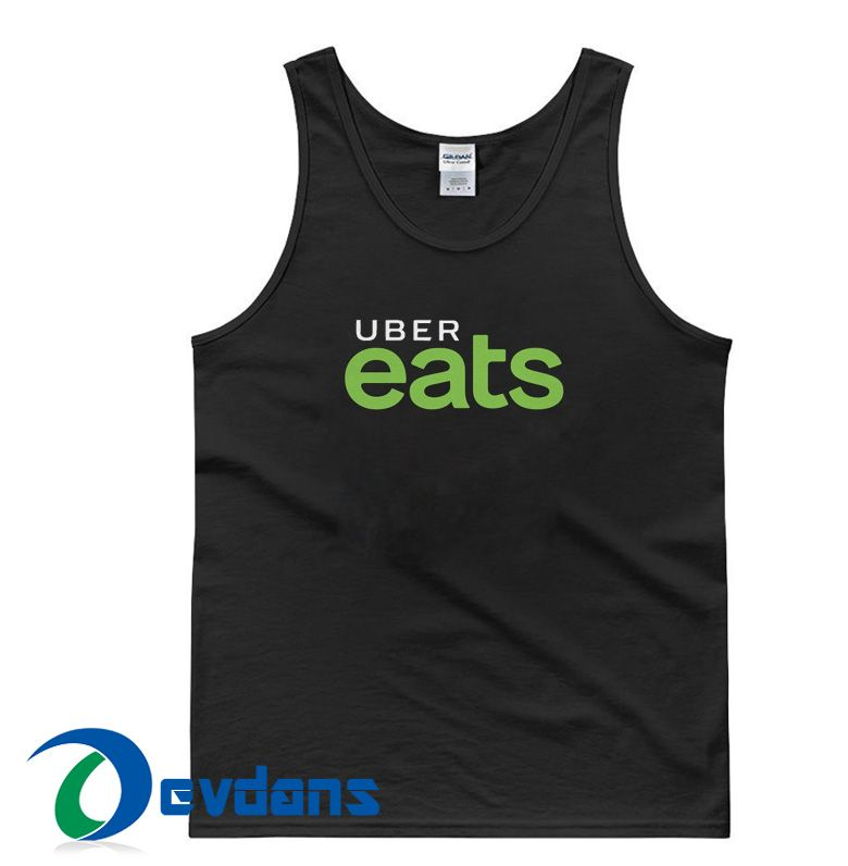 Uber Eats Tank Top Men And Women Size S to 3XL