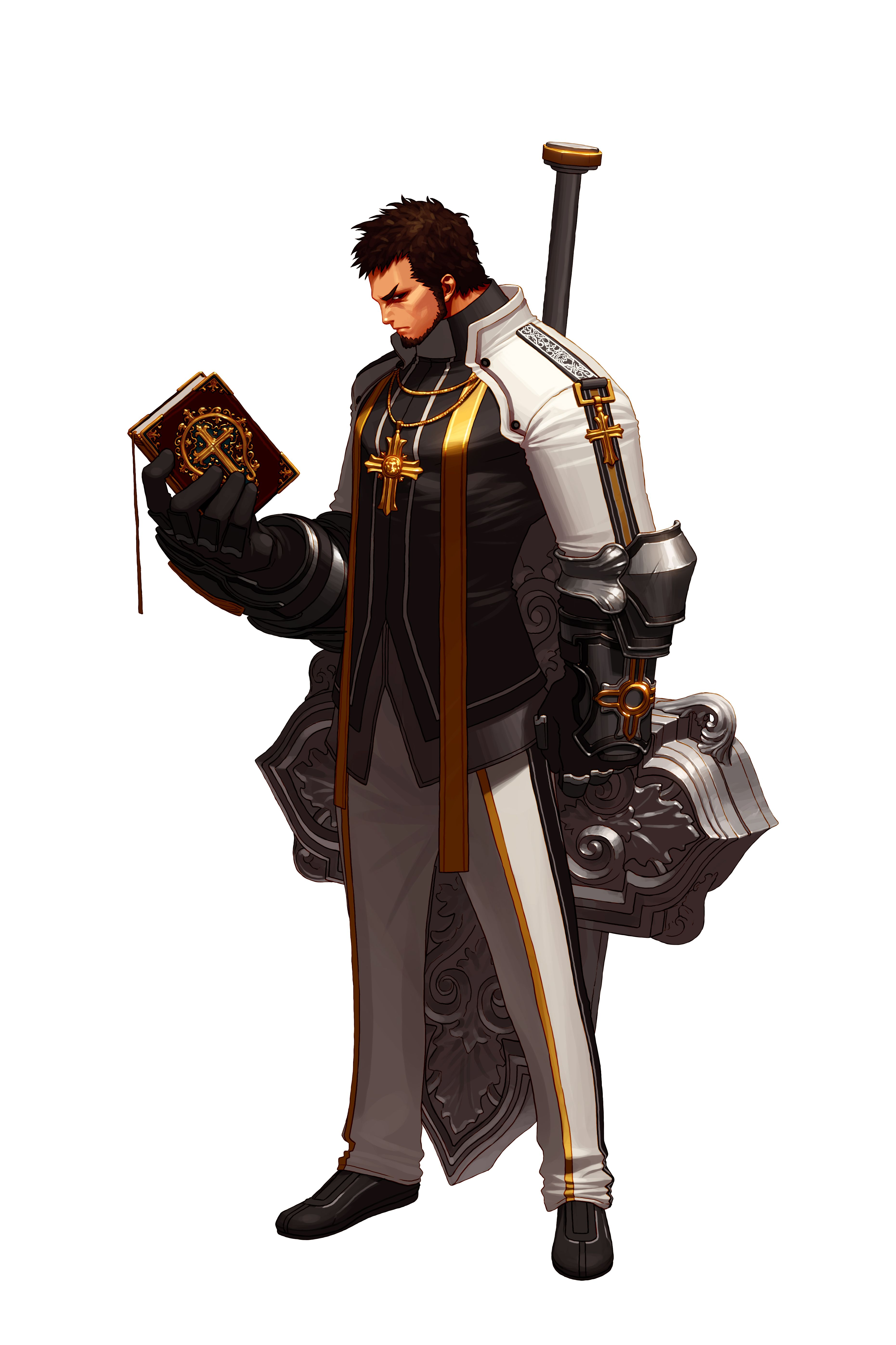 Dungeon Fighter Online Priest Inspiration Character Art
