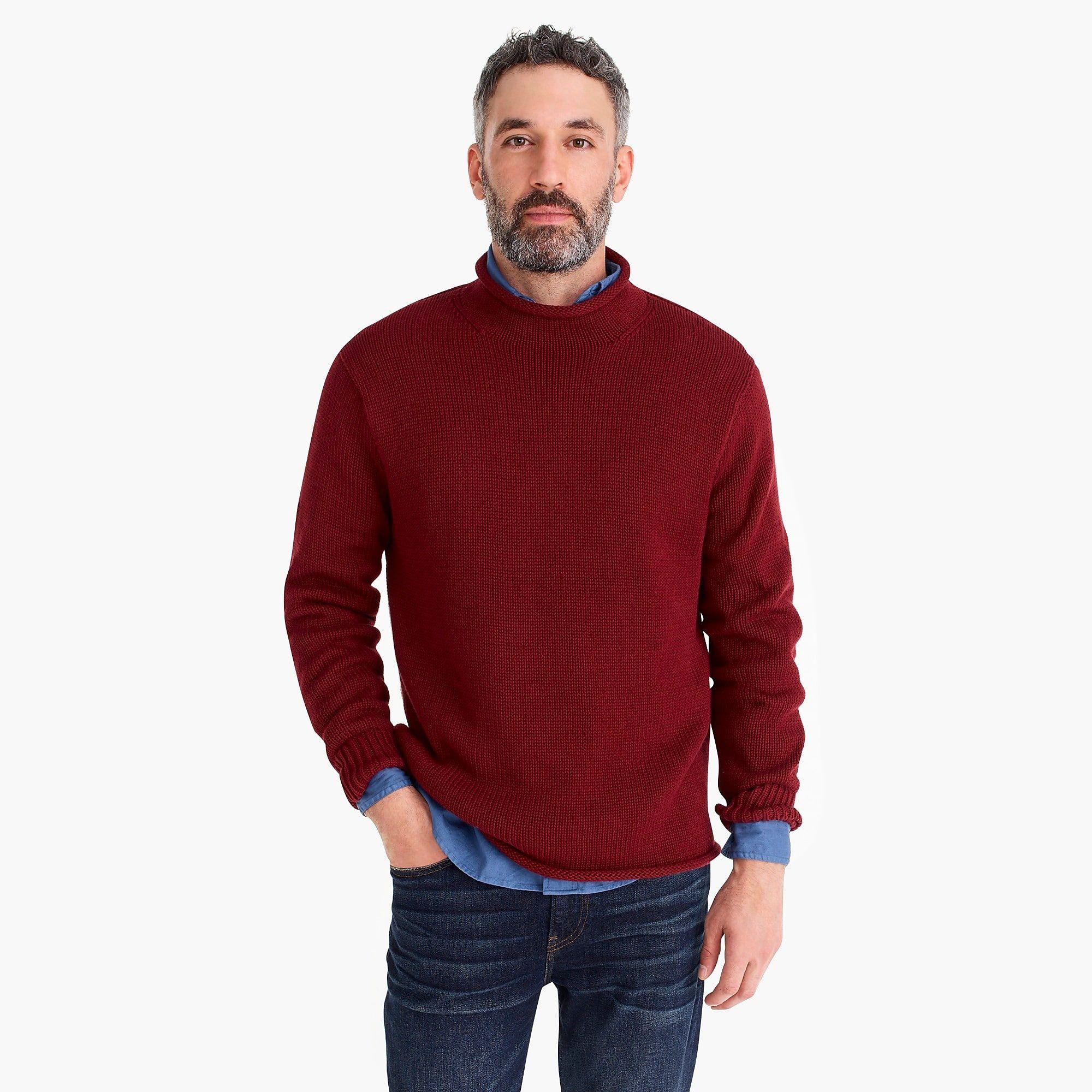 7cc2154fe Unisex 1988 cotton rollneck sweater - Men's Sweaters | J.Crew | MENS ...