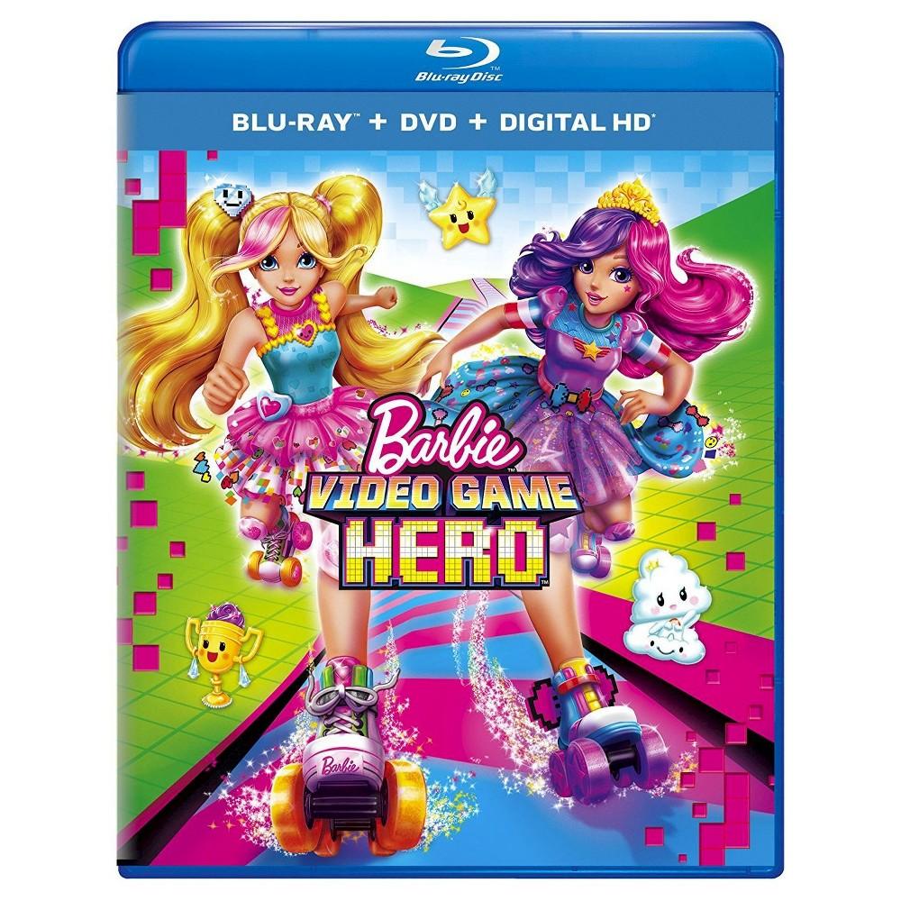Barbie Video Game Hero Blu Ray Dvd Digital Barbie
