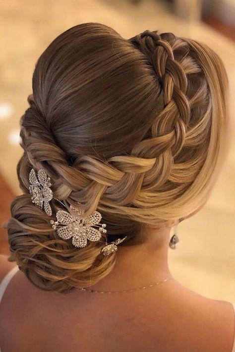 36 Always Feminine Vintage Wedding Hairstyles | We