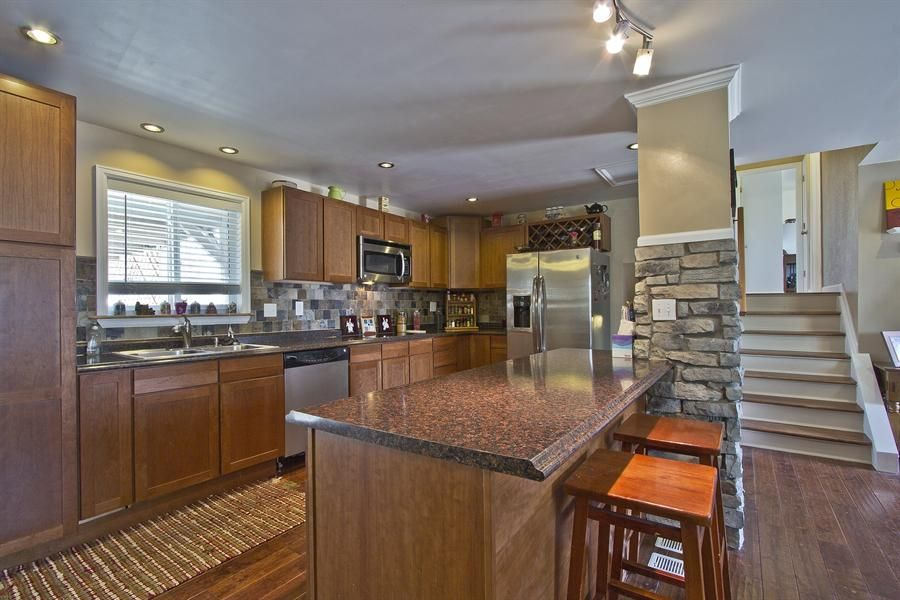 Home Kitchen Remodel Concept Remodeled Westminster Trilevel  Wants  Pinterest .