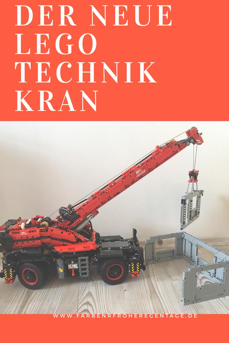 Werbung Wir Zeigen Hier Den Neuen Lego Technik Kran Das Bisher Grosste Technik Set Aufbau Und Funktionen Lego Technik Lego Technik