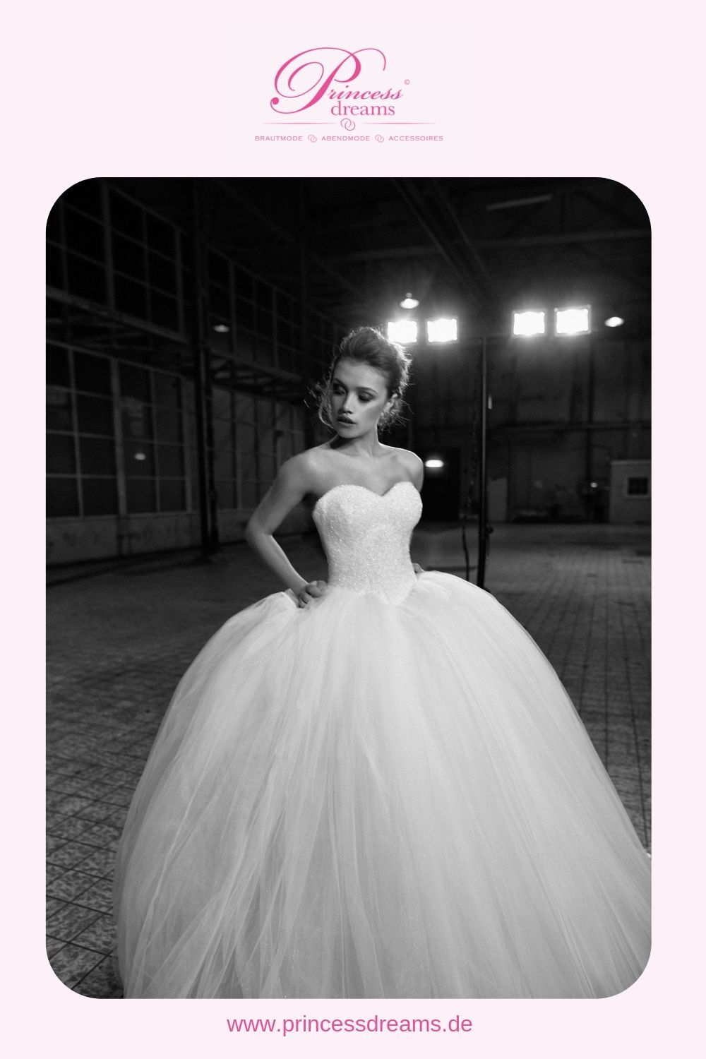 Photo of A wedding dress for real princesses! This wedding dress …
