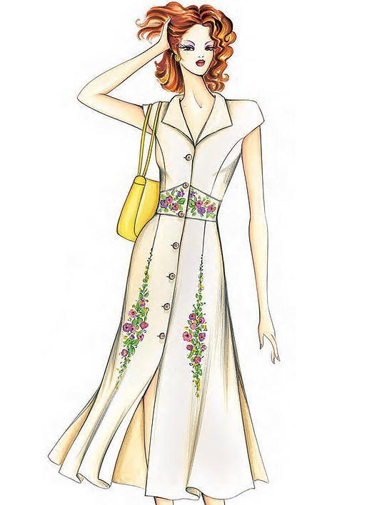 F6258 | McCall\'s Patterns | Sewing Patterns | Moda | Pinterest