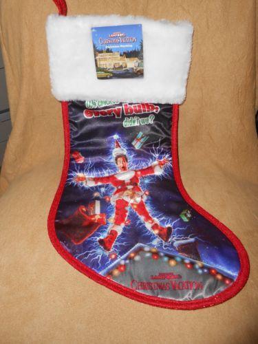 National Lampoon Christmas Vacation Holiday Stocking Brand