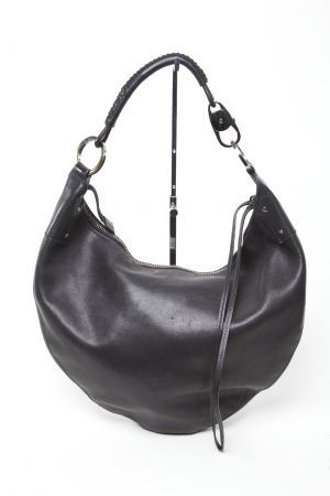Gucci Black Hobo Handbag with Silver Hardware $198.00 | Our ...