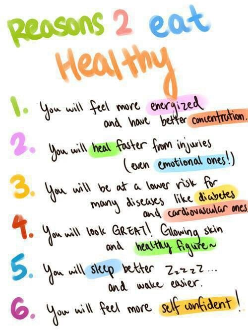 These are all SO. TRUE. It truly is amazing how much healthy eating can change your life.