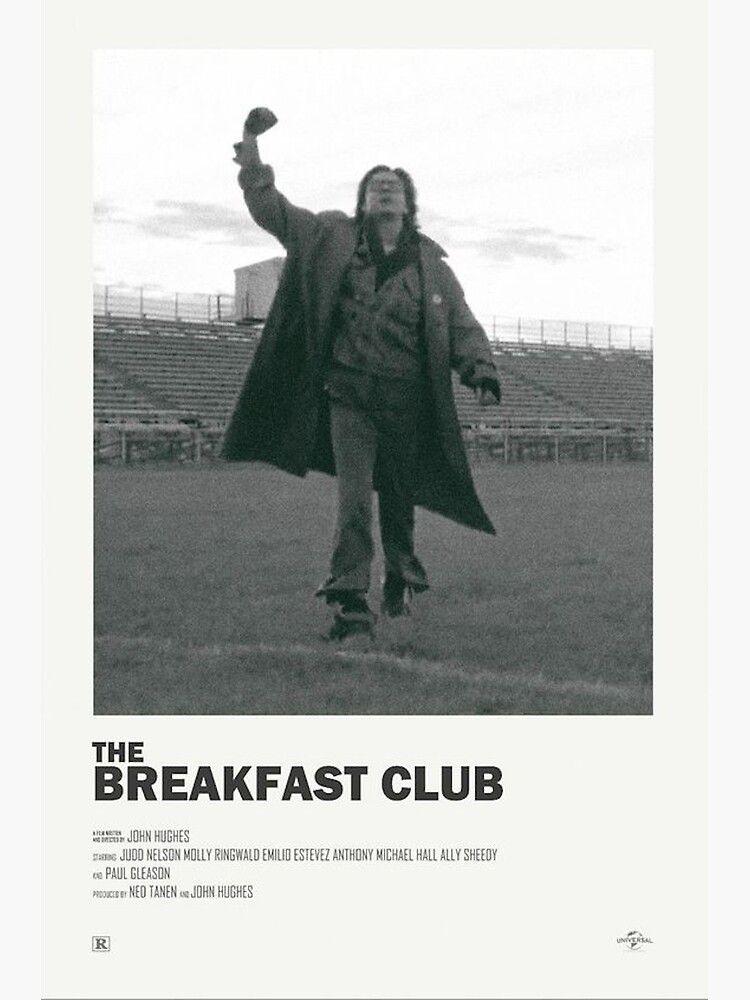 Breakfast Club Alternate Movie Poster Art Print by morganber