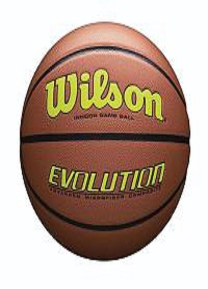 Wilson evolution official size game basketballyellow
