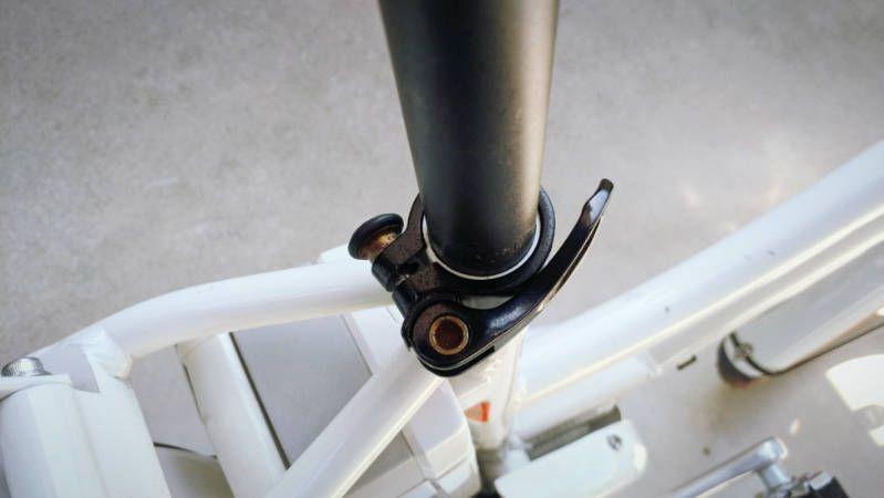 電動自転車 Hydee2 シートクランプ クイックタイプ 交換 1 電動自転車 自転車 シート