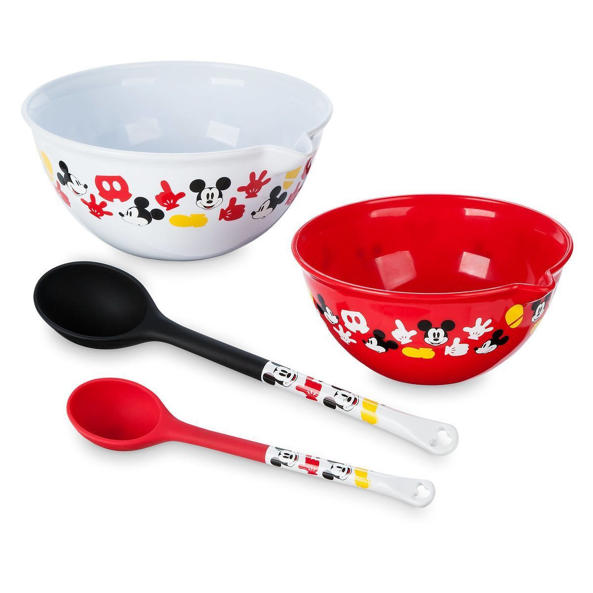 Product Image of Mickey Mouse Bowl and Spoon Set - Disney Eats # 2 #disneykitchen