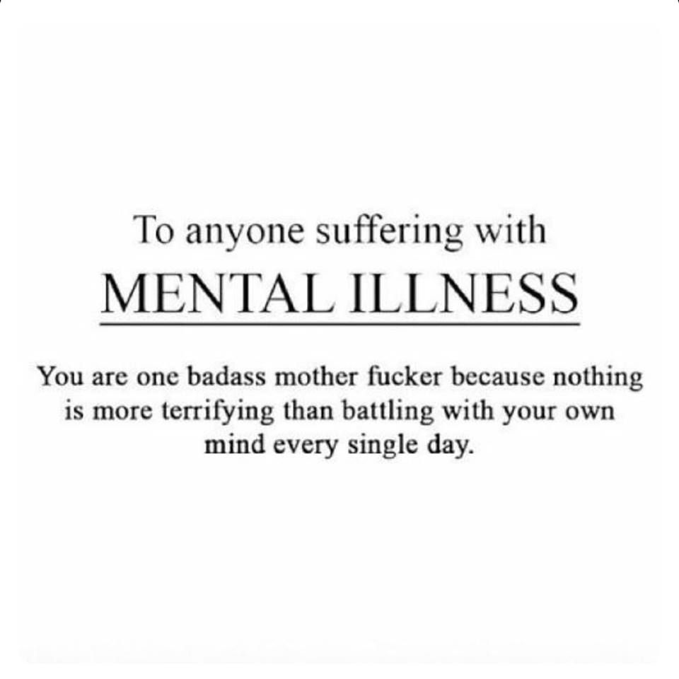 Mental Health Quotes Mental Health For Allsorry About The Language But This Has To Be .